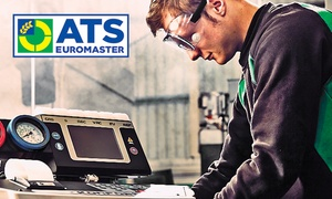 ATS Euromaster: Car Air-Conditioning Recharge with Optional Anti-Bacterial Clean at ATS Euromaster, Multiple Locations (Up to 39% Off)