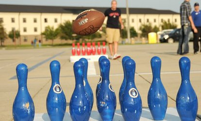 45-Minute Football Bowling Game for Up to Six at FootBowl (42% Off)