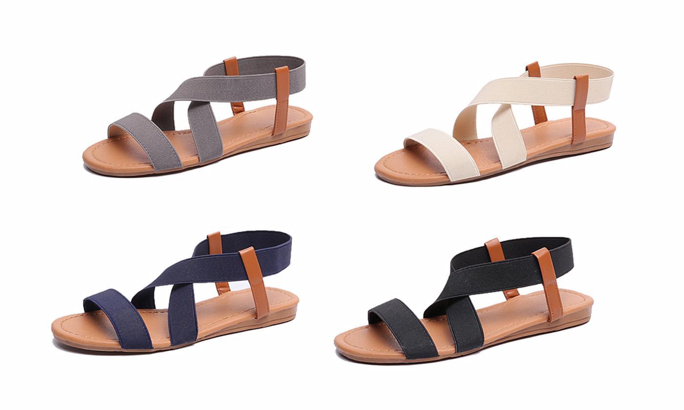 Women's Fabric Strap Sandals