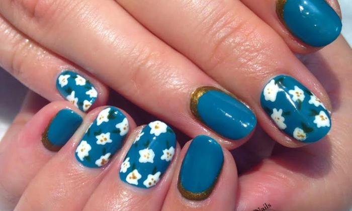 Gel mani pedi nail art hause of nails groupon customer reviews prinsesfo Image collections