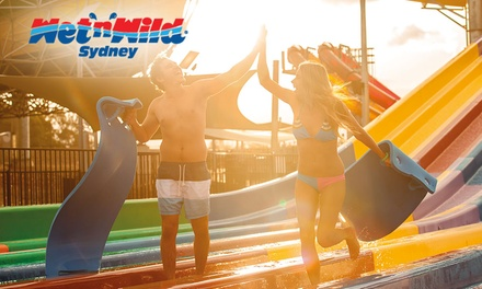 WetnWild Sydney: One Day Entry (from $25) or Unlimited Entry for the Rest of the Season (from $49)   Save Over 50%!
