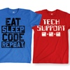 Men's Coding Humor T-Shirts
