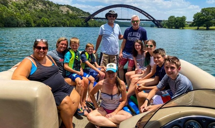 Two- or Four-Hour Boat Rental at Wake Riderz: Pontoon Rentals (Up to 21% Off)