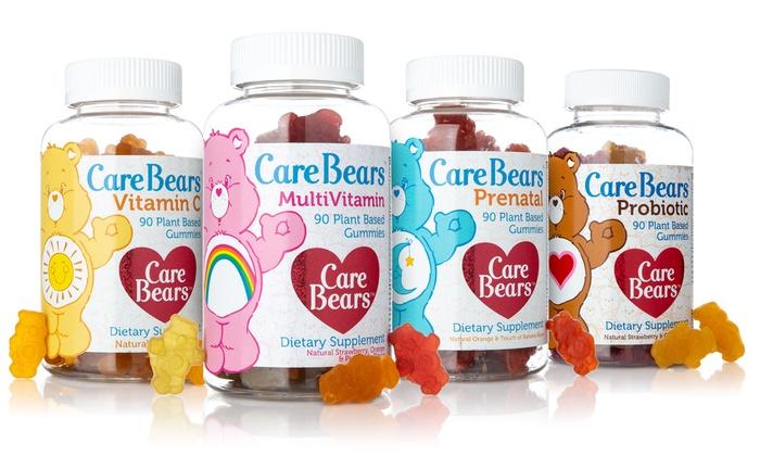 Integrity Vitamins CareBears Vegan Multivitamin, Vitamin C, Prenatal, or Probiotic Gummies (1- or 2-Pack)