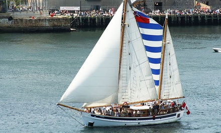 One-Hour or 90-Minute Sail for Two Adults or a Family of Four Aboard