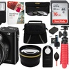 Sony Alpha a6000 24.3MP 1080p Mirrorless Digital Camera