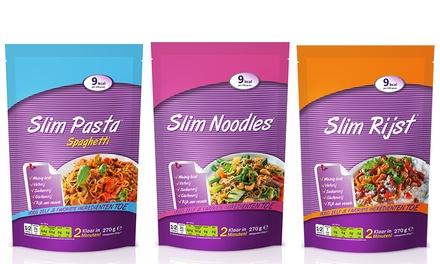 24er- oder 25er-Pack mit Nudeln, Spaghetti oder Reis für das Gewichtsmanagement