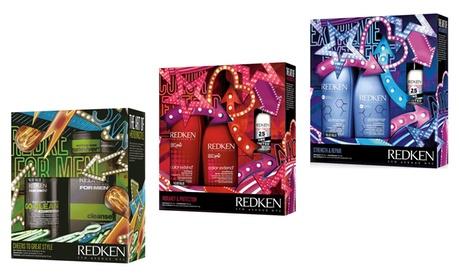 Redken Hair Care Gift Set (2, 3, or 4-Piece) 94c69366-e5a9-11e7-a417-00259069d7cc