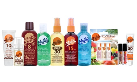 Malibu Tanning and Holiday Care Products