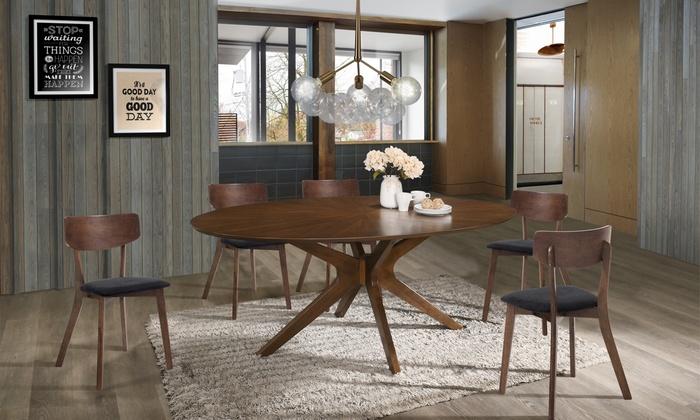 Set di 2 sedie Varm in legno massello, disponibile in 2 modelli e colori