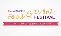 Child, Family or Adult Tickets to the Midlands Food and Drink Festival, Stoneleigh Park, 23 - 24 July (Up to 25% Off*)
