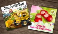 One, Three, Five, or Seven Soft Cover Personalized Kids Books from Dinkleboo (Up to 80% Off)