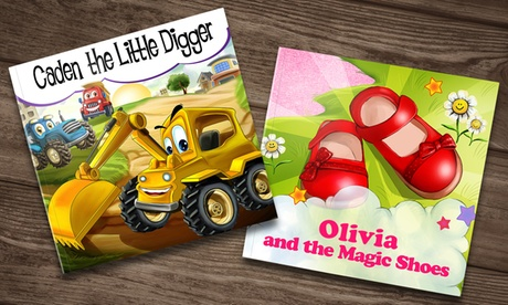 One, Three, Five, or Seven Soft Cover Personalized Kids Books from Dinkleboo (Up to 71% Off)