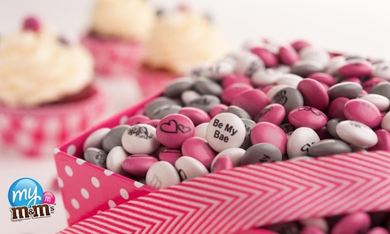 Personalized M&M's for Valentine's Day Gifts and Other Occasions from MyMMS.com (Up to 50% Off).