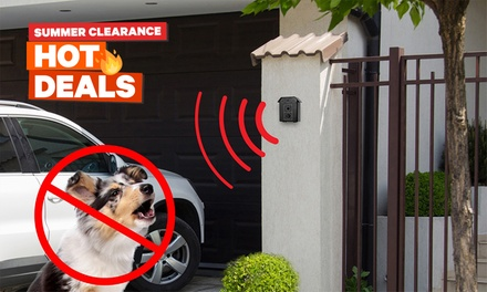 $26 for an Ultrasonic Bark Control Device (Don't Pay $89)