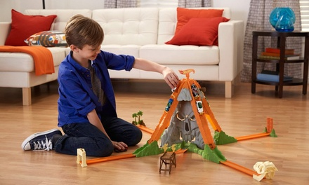 Hot Wheels Track Builder Volcano Blast Set for £29.99 With Free Delivery (19% Off)