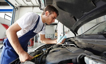 1 Auto-Maintenance Package, or Brake-Pad Replacement at Auto and Truck Repair-Metro 25 (Up to 68% Off)