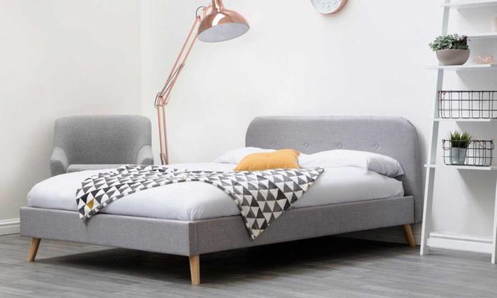 Woburn Fabric Bedframe with Optional Mattress
