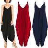 Women's Harem Jersey Jumpsuit