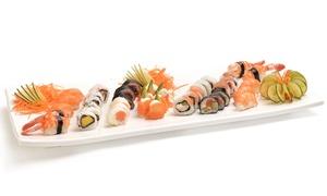 Sushi Phone: Desde $329 por tabla especial de 40 u 80 piezas de sushi + envío en Sushi Phone