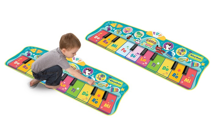 33 Off On Baby Step To Dance Piano Mat Livingsocial Shop