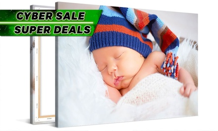 From $6.99 for a Personalised Photo Canvas Print (Don't Pay up to $233.80)