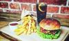 Wybrany burger lub sałatka