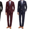 Braveman Men's Classic-Fit 2-Piece Suits (2-Pack)
