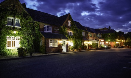 Warwickshire: Double Room for Two with Breakfast and Options on Afternoon Tea and Dinner at Honiley Court Hotel
