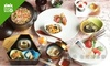 ランチ&ディナー|懐石料理(全8品)+1ドリンク+おみやげ