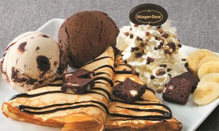 Création gourmande Häagen Dazs au choix pour 2 ou 4 personnes, à déguster sur place, dès 12,90 € chez Häagen Dazs