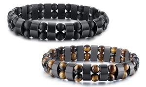 Bracelets pour homme en acier inoxydable