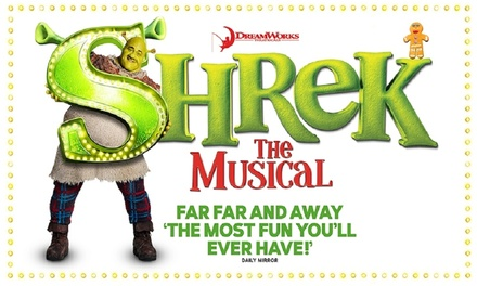 One Ticket to Shrek the Musical, 23-25 January at Palace Theatre, Manchester (Up to 40% Off)