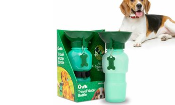 Crufts Pet Travel Water Bottle