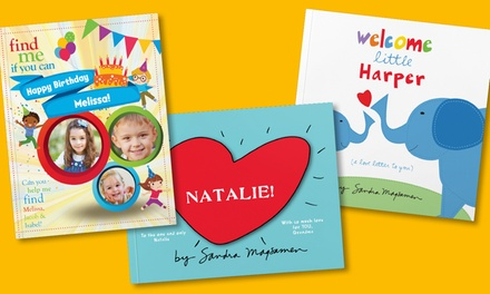 Personalized Paperback Storybooks from Put Me In The Story (50% Off). Three Options Available.