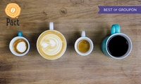 £5 for £15 to spend on a Fresh Coffee Subscription with Free Delivery from Pact (67% Off).