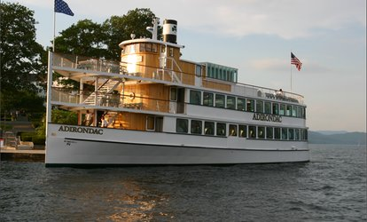 image for Two-Hour Sightseeing Cruise for One, Two, or Four at Lake George Shoreline Cruises (Up to 30% Off)
