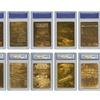 Star Wars Complete Gold Cards Set Mint (7-Piece)