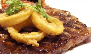 The Ranch Grillhouse: Steak and Calamari for R180 for Two at The Ranch Grillhouse