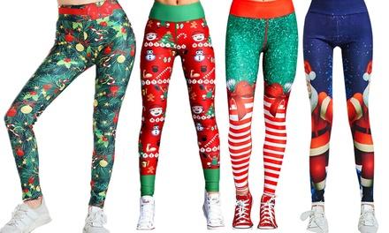 Christmas Leggings: One Pair ($17) or Two Pairs($29)