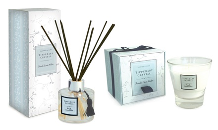 Tipperary Crystal Gift Sets Including Fragranced Candle and Diffuser Set from €24.99