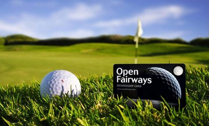 image for 12- or 24-Month Golf Privilege Card Valid at 1000+ Courses in UK and Ireland from Open Fairways (Up to 72% Off)