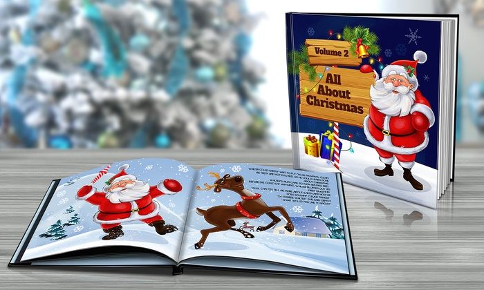 Personalized Christmas Story Book