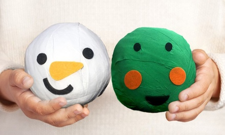 Pass the Snowman or Sprout Christmas Game