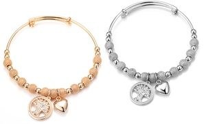 (Bijou) Bracelet avec cristaux Swarovski® -76% réduction
