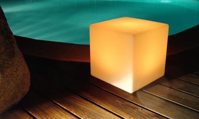 Boule Ou Cube Multicolore Lumijardin Groupon