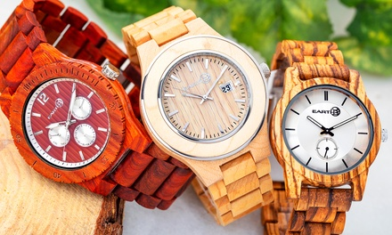 Orologi da polso Earth Wood
