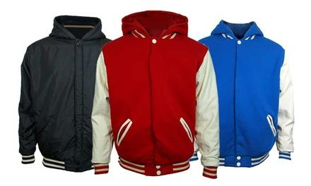 Men's Reversible Varsity Jacket