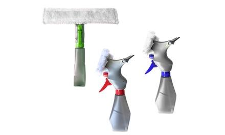1 o 2 spazzole lavavetri con 3 funzioni in 1
