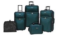 Travelers Choice 5-Piece Versatile Luggage Set